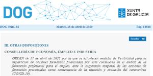 Doga firma biométrica Xunta