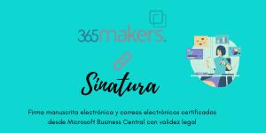 Alianza Sinatura 365makers Microsoft BC 365